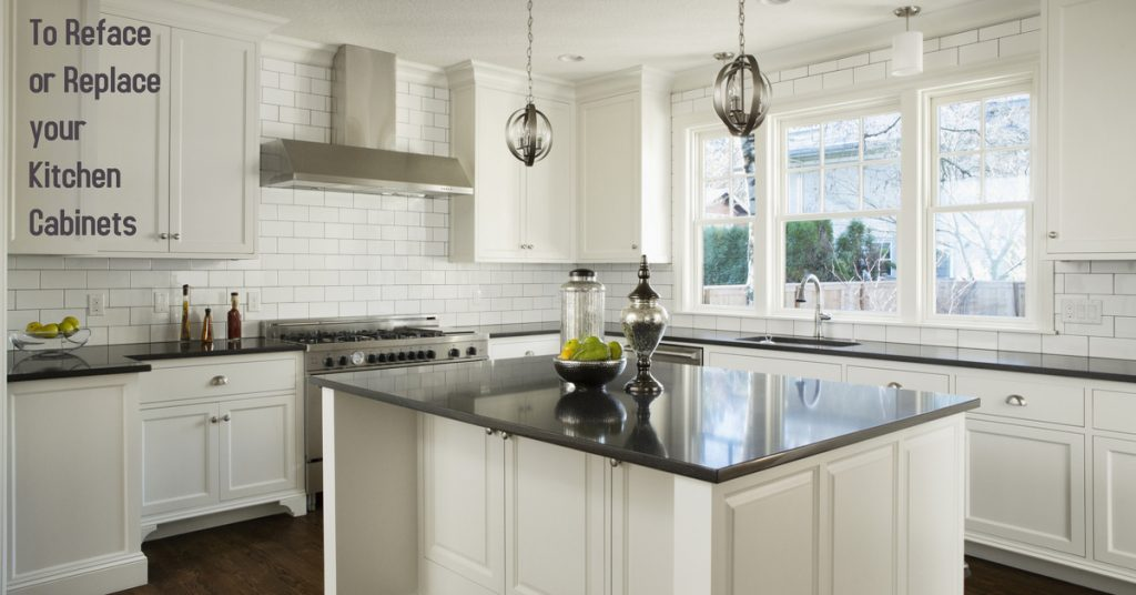 Kitchen Remodel To Reface Or Replace Your Kitchen Cabinets Crew Construction Restoration